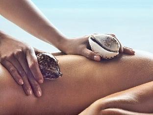 shangrilas villingili resort maldives - cowrie shell massage
