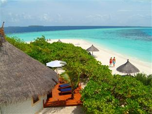 vilu reef beach spa resort maldives - beach villa exterior