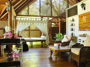 vilu reef beach spa resort maldives - spa interior