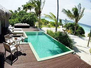 zitahli kudafunafaru resort maldives - beach villa pool